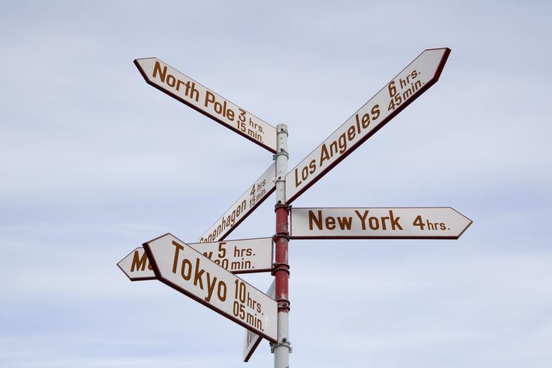 7. There are two different North Poles