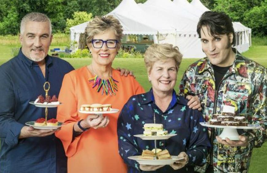 Great British Baking Show' Leftovers Are Fed to Hungry Pigs