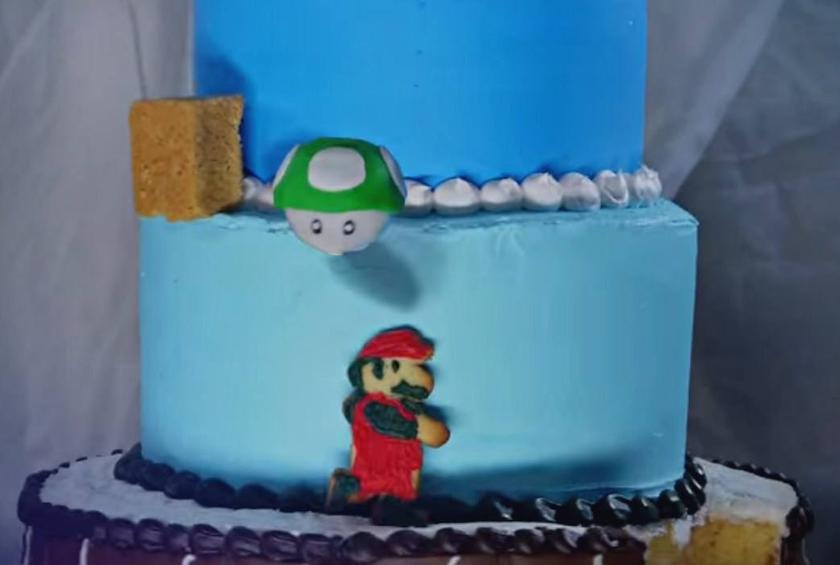 Rescuing Princess Peach was just the icing on the cake.