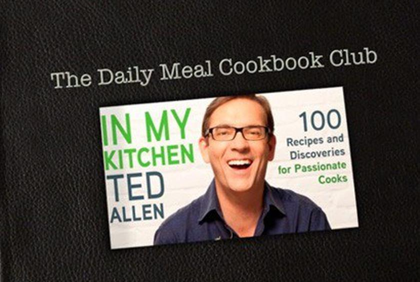 Ted Allen Cookbook Club