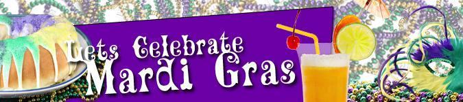 Let's Celebrate Mardi Gras