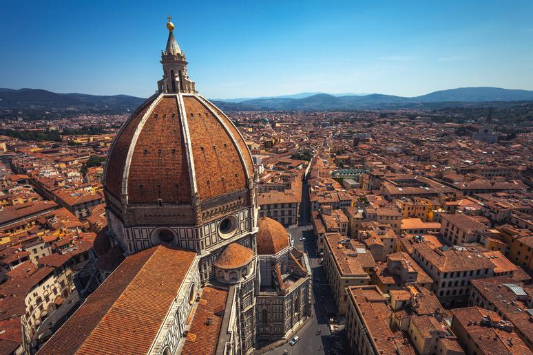 Get a bird's eye view in Florence