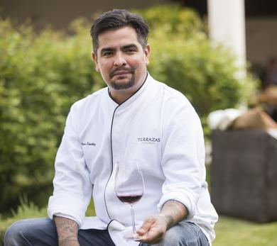 Aarón Sánchez believes Terrazas de los Andes Reserva Malbec is the perfect paired wine for any summer grilling