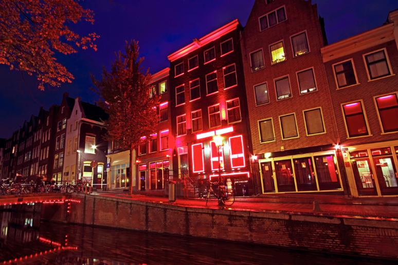 The Red Light District, Amsterdam, The Netherlands