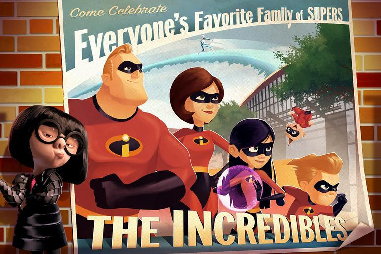 The Incredibles at Pixar Place in Hollywood Studios