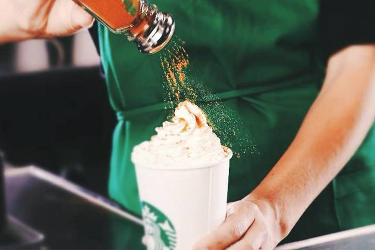 #7 Starbucks: Pumpkin Spice Latte With 2-Percent Milk and Whipped Cream