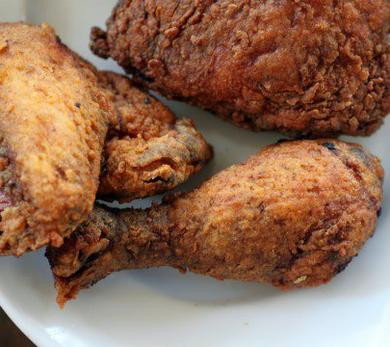 Saffron Fried Chicken
