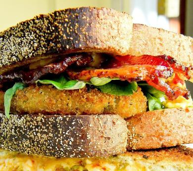 Fried Green BLT
