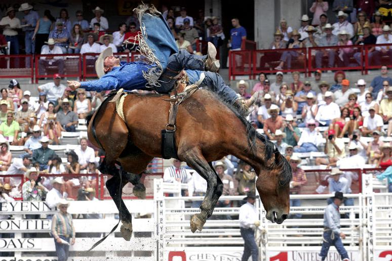 Wyoming – See the world's largest rodeo