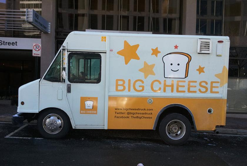 Big Cheese Truck Upscale Dc Grilled Cheese On A Food Truck