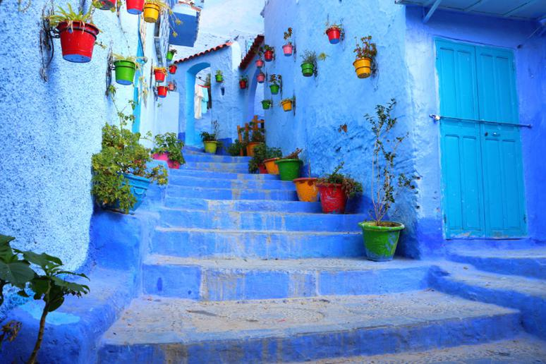30. Chefchaouen, Morocco