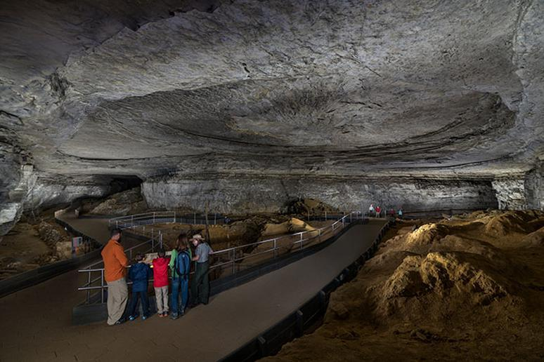 Kentucky: Mammoth Cave National Park (Mammoth Cave)