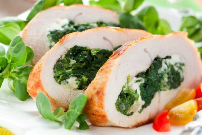 Spinach Stuffed Turkey Breast