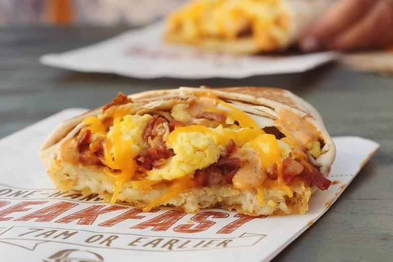 Taco Bell: A.M. Grilled Taco