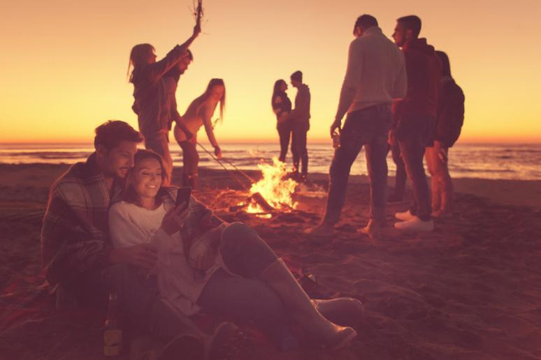 Or a Bonfire on the Beach