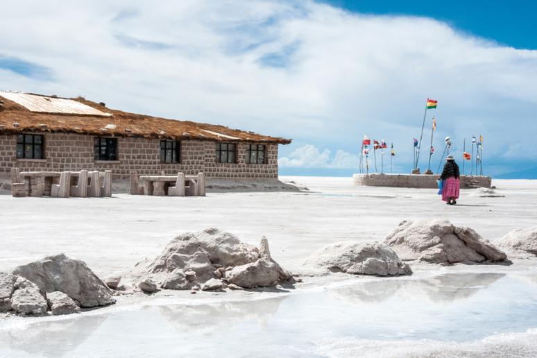 Stay at an extreme hotel in Bolivia