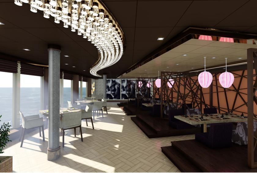 Chef Roy Yamaguchi Launches His First Cruise Ship Restaurant - Cruise ship kitchen