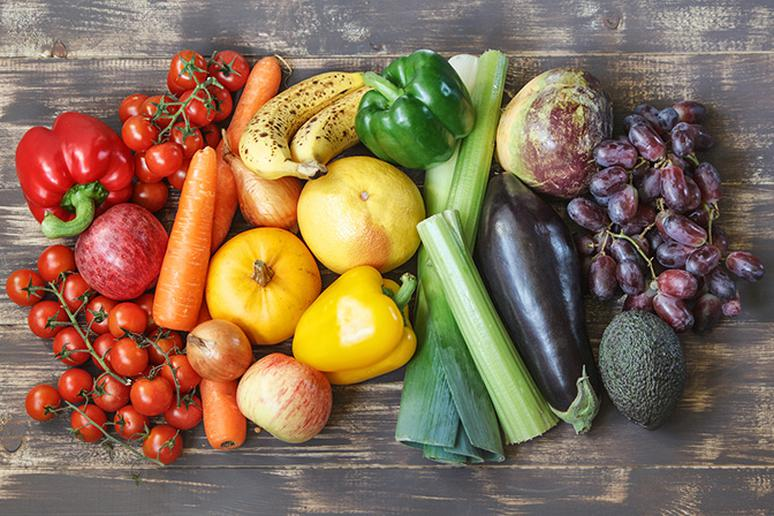 Don't fret over getting a balanced diet of vegetables, just eat a colorful assortment