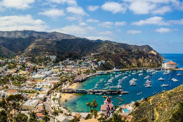 Try sailing on Catalina Island, California