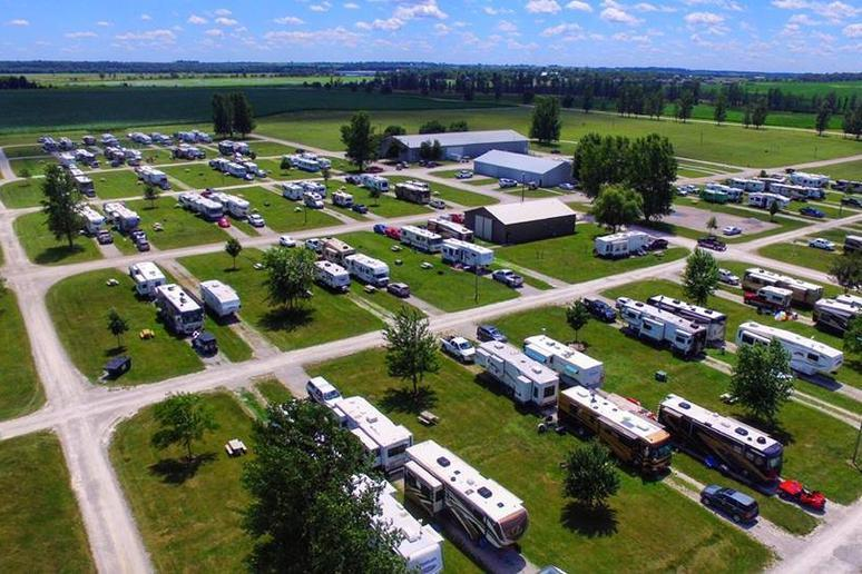 Iowa: Amana RV Park & Event Center (Amana)