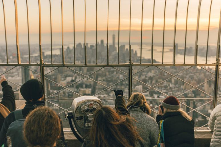 The Empire State Building Observation Deck, New York