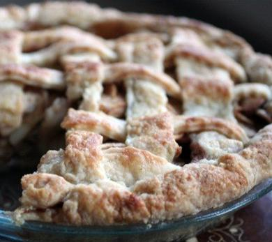 Apple Pie with Star Anise Brown Butter