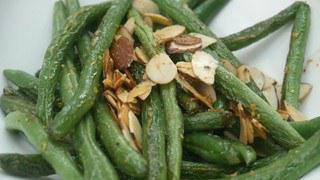 Quick Eats: Green Beans and Almonds