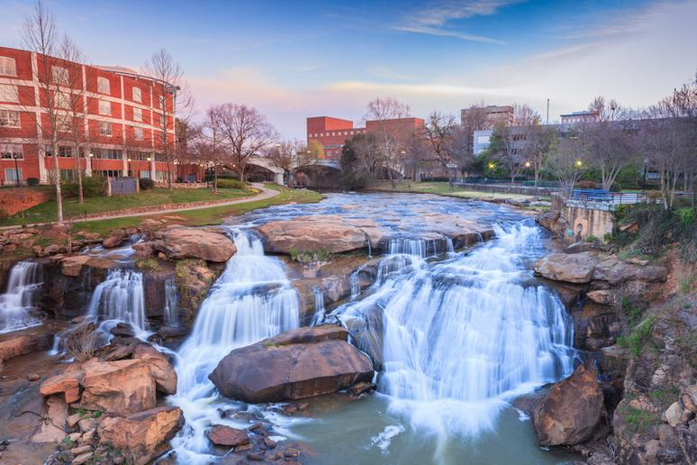 28. Greenville, South Carolina