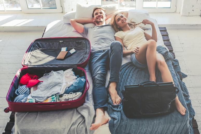 When you check luggage at the airport, it can 'magically' appear in your room