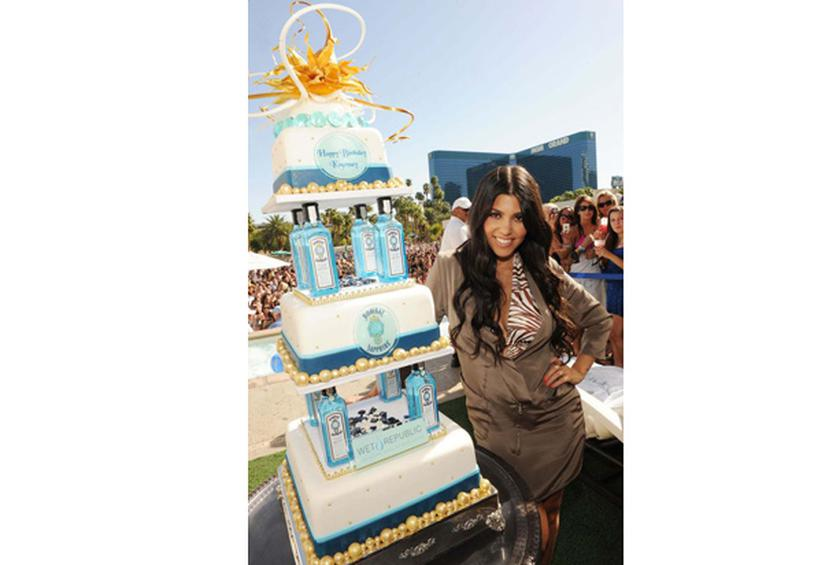 Kourtney Kardashians 31st Birthday Cake