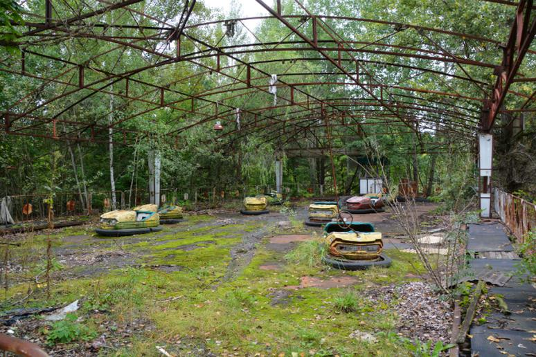 The Exclusion Zone, Pripyat, Ukraine