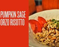 Pumpkin Sage Orzo Risotto Recipe