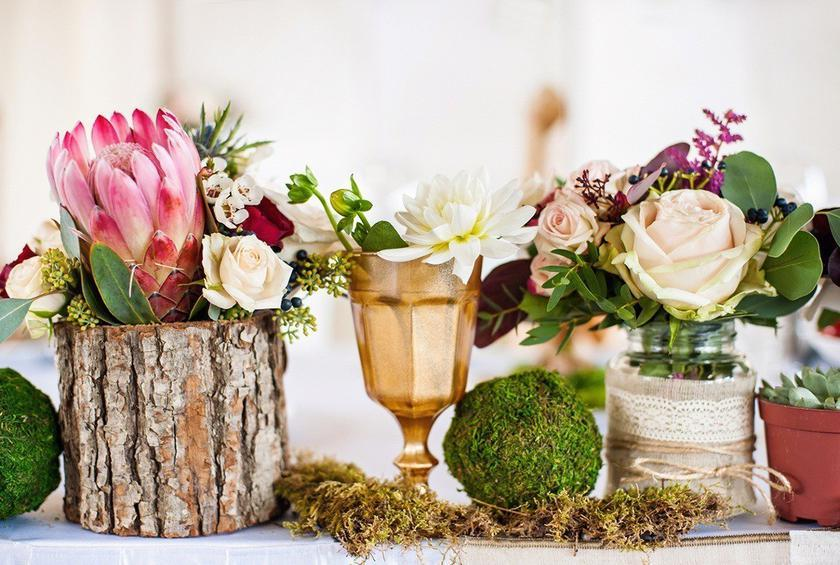 Rustic/Boho Touches