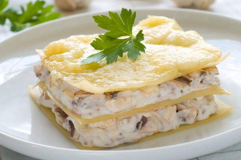 White Turkey Lasagna