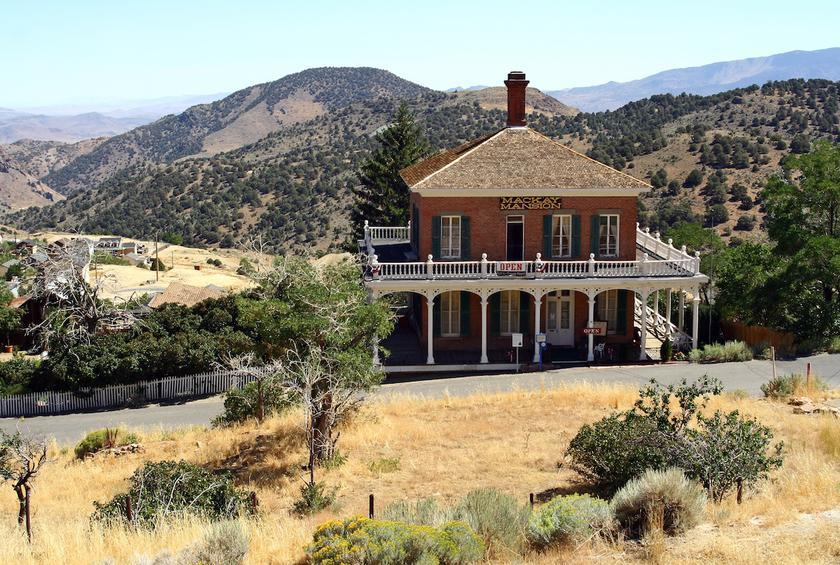 Nevada: Mackay Mansion (Virginia City)