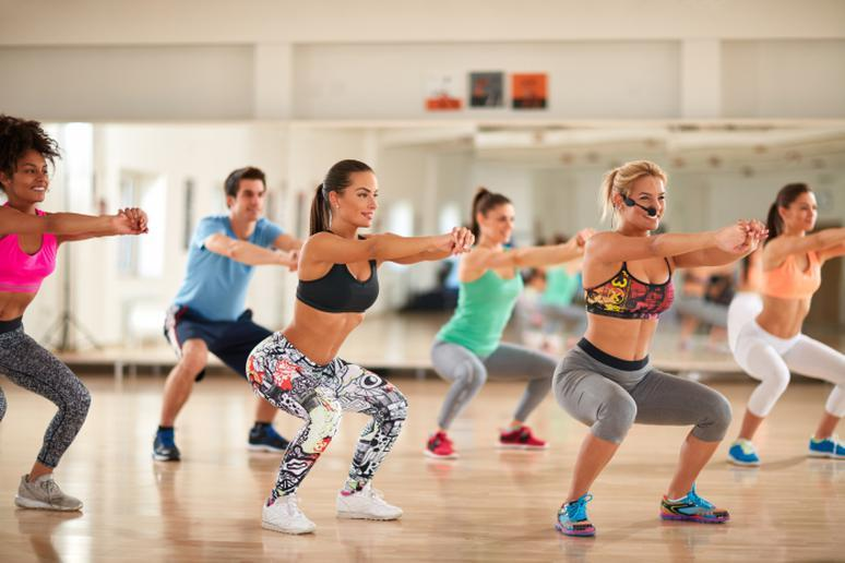 Take a Group Fitness Class