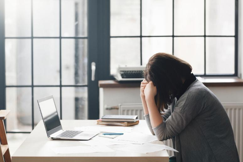 You don't manage stress well