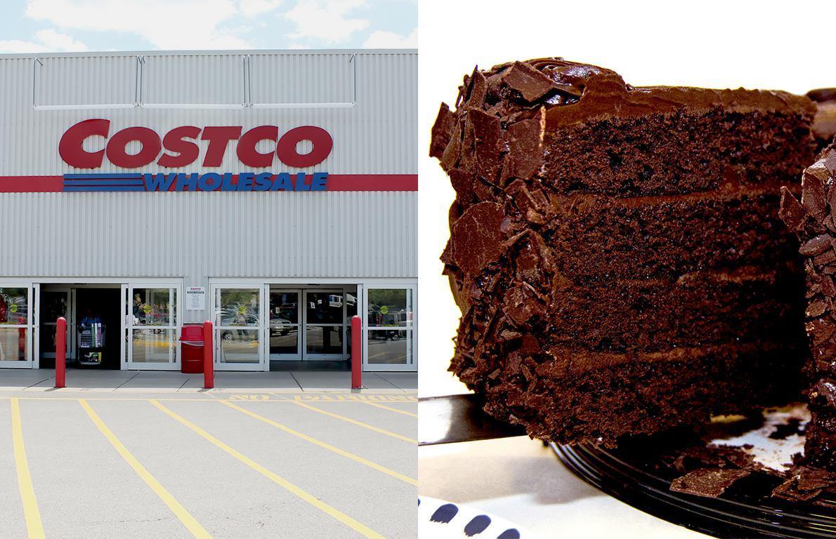Outstanding Costcos All American Chocolate Cake Is A Bargain And Weighs 7 Personalised Birthday Cards Arneslily Jamesorg