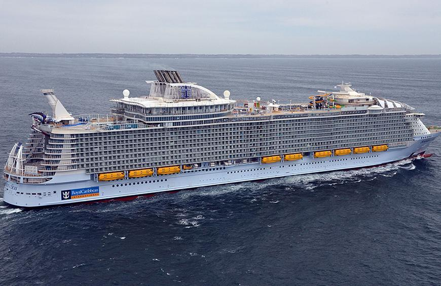 The Biggest Cruise Ship in the World Has 20 Restaurants, 19 Pools