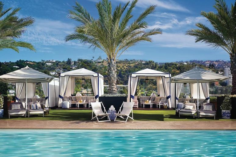 Rooftop Pool at The London West Hollywood (West Hollywood, Calif.)