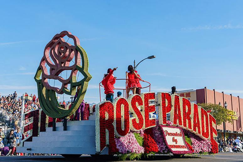 California: Rose Parade (Pasadena)