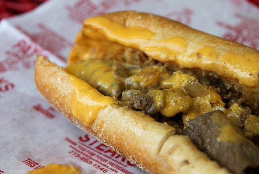Man Vs Food Best Philly Cheesesteak