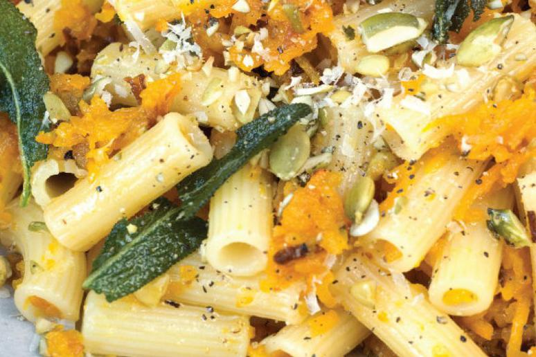 Pumpkin and Pumpkin Seed Maccheroncini