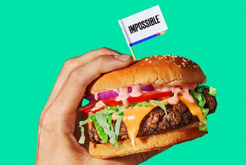 Image result for impossible burger