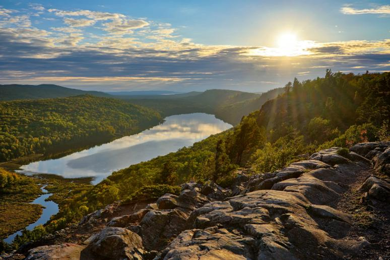 Michigan: Porcupine Mountains State Park
