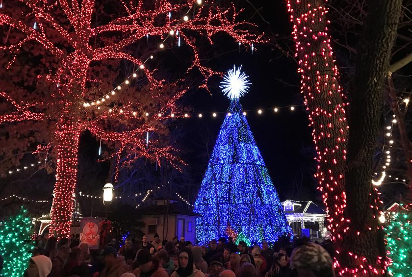 an old time christmas at silver dollar city branson mo - Silver Dollar City Christmas