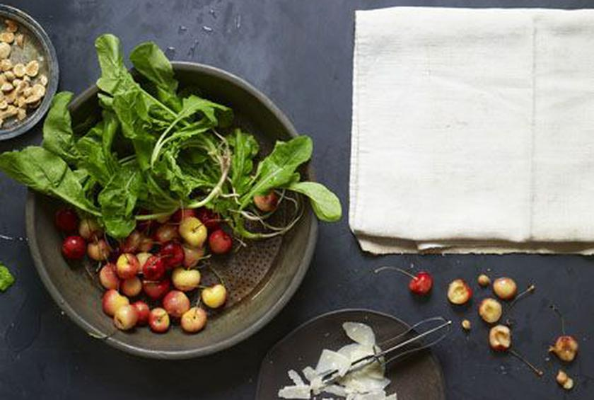 Arugula and Cherry Salad