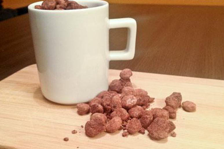 Chocolate & Peanut Butter Covered Coffee Beans