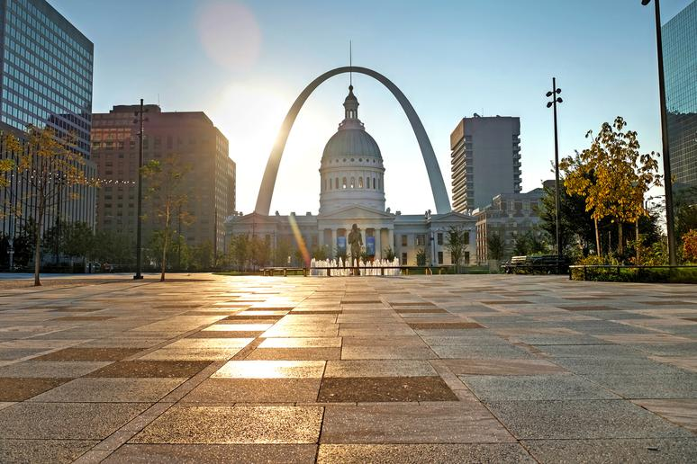 1. St. Louis, Missouri