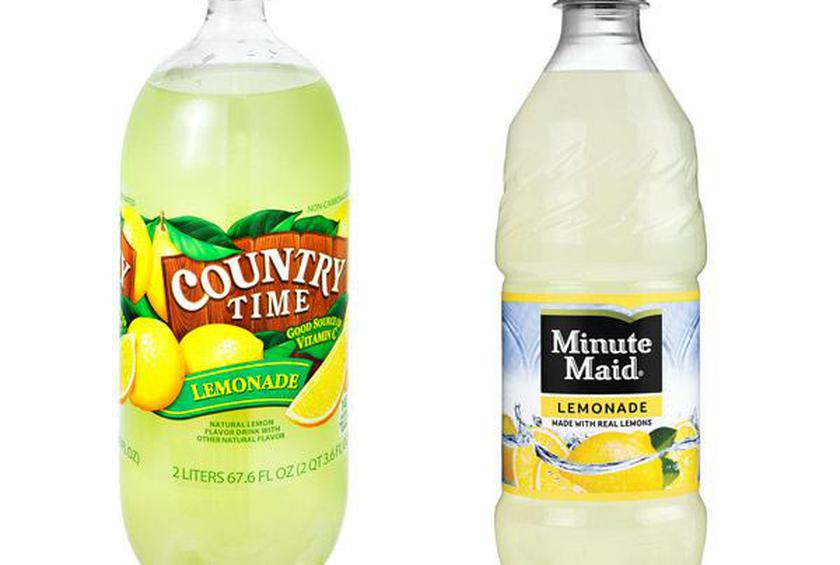 Country Time and Minute Maid Lemonades